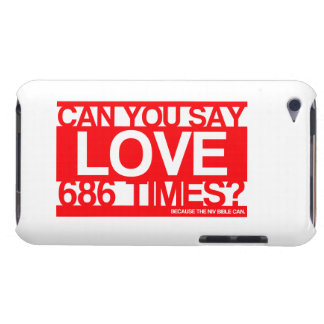 Love Much Christian Barely There iPod Cover