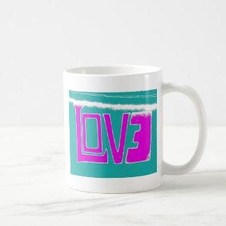 """""""LOVE"""" BASIC WHITE MUG"""