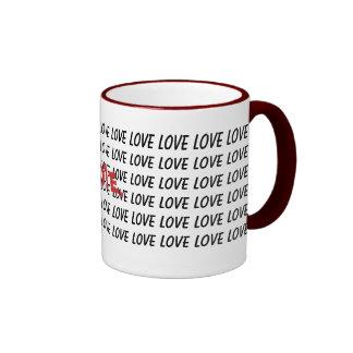 Love. Ringer Mug