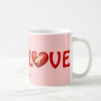 LOVE CLASSIC WHITE COFFEE MUG