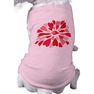 Love Mum Sleeveless Dog Shirt
