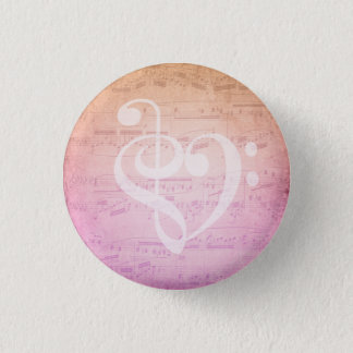 Love Music 3 Cm Round Badge