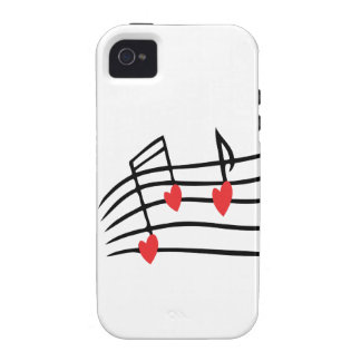 Love Music iPhone 4 Cover
