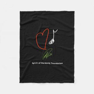 Love Music Fleece Blanket