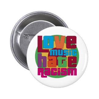 Love Music Hate Racism 6 Cm Round Badge