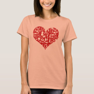 Love Music Instruments T-shirt