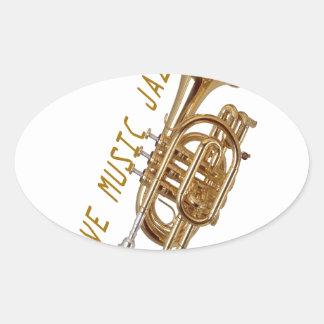Love Music Jazz Stickers