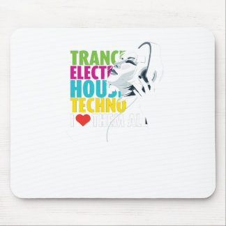Love music mouse mat