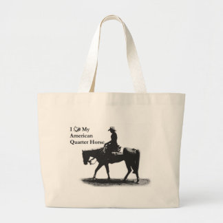 Love My American Quarter Horse Tote Bag