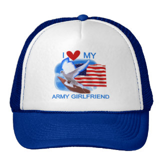 Love My Army Girlfriend T-shirts and Gifts Cap