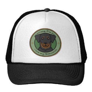 Love My Beauceron Cap