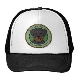 Love My Beauceron Trucker Hats