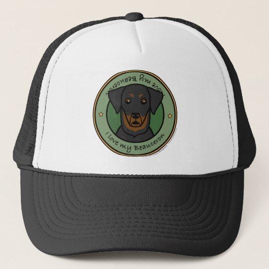 Love My Beauceron Trucker Hat