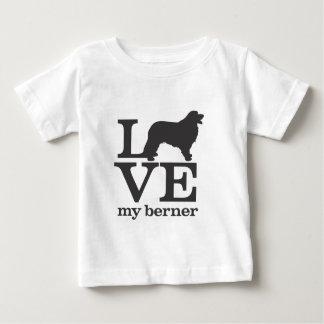 Love my Bernese Mountain Dog Baby T-Shirt