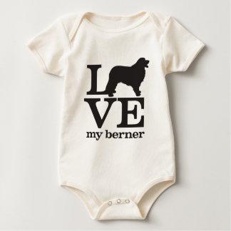 Love My Bernese Mountain Dog Bodysuit