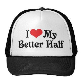 Love My Better Half Trucker Hat
