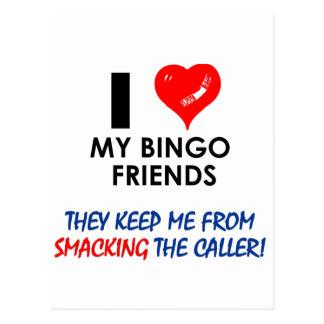 Love my Bingo Friends! Postcard
