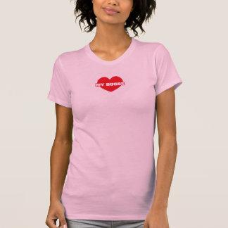 Love My Boobs (Heart symbol) T-Shirt
