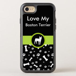 Love My Boston Terrier OtterBox Symmetry iPhone 7 Case