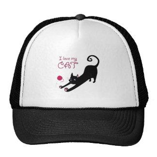 Love My Cat Cap