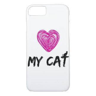 LOVE MY CAT iPhone 7 CASE