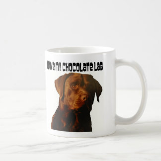love my chocolate lab mug
