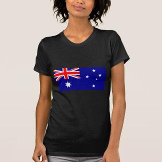 Love MY Country Australia Flag jGibney The MUSEUM Tee Shirts
