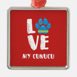 LOVE MY CUNUCU (White letters) - Ornament