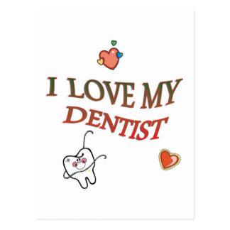 Love My Dentist Postcard