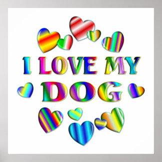 Love My Dog Poster