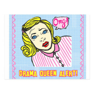 Love my Drama Queen Post Card