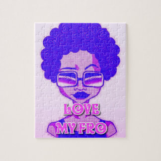 Love My Fro Puzzle