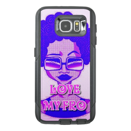 Love My Fro Samsung Galaxy S6 Otterbox Case