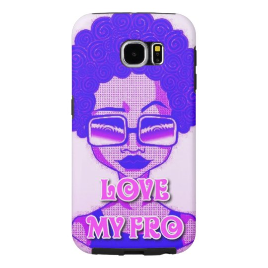 Love My Fro Samsung Galaxy S6 Phone Case