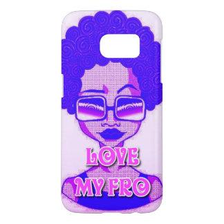 Love My Fro Samsung Galaxy S7 Phone Case