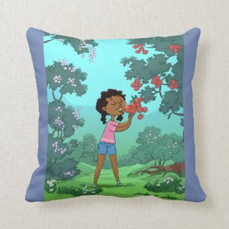 Love My Garden design Reversible Cushion