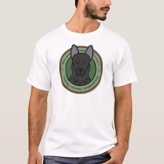 Love My German Shepherd T-Shirt