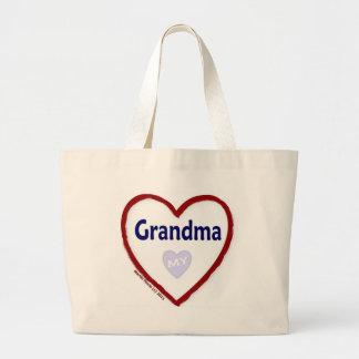 Love My Grandma Canvas Bags
