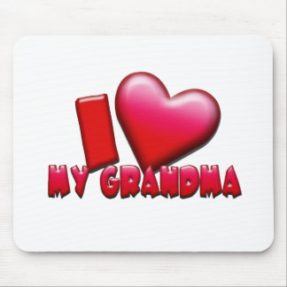 Love My Grandma Mouse Pad