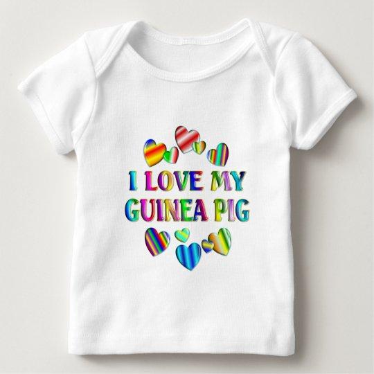 Love My Guinea Pig Baby T-Shirt