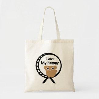Love My Hammy Budget Tote Bag