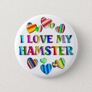 Love My Hamster 6 Cm Round Badge