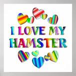 Love My Hamster Poster