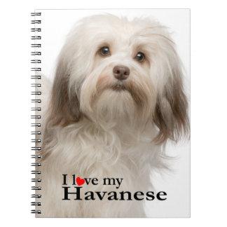 Love My Havanese Notebook