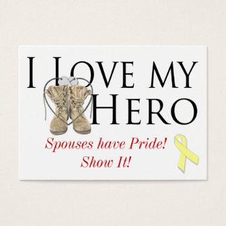 love my hero, shoe yellow ribbon, Spouses have ...