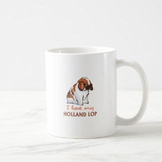 LOVE MY HOLLAND LOP COFFEE MUGS