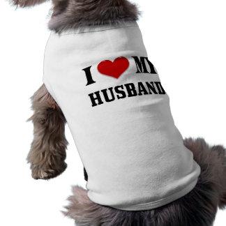 LOVE MY HUSBAND DOGGIE TEE