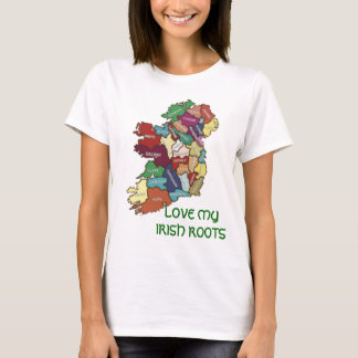 LOVE MY  IRISH ROOTS T-Shirt