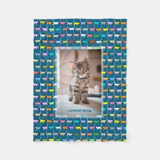 Love My Kitty Your Custom Photo Cat Print