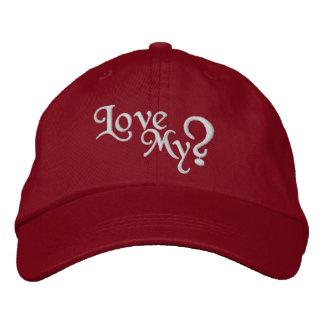 Love my ? ladies cap embroidered cap